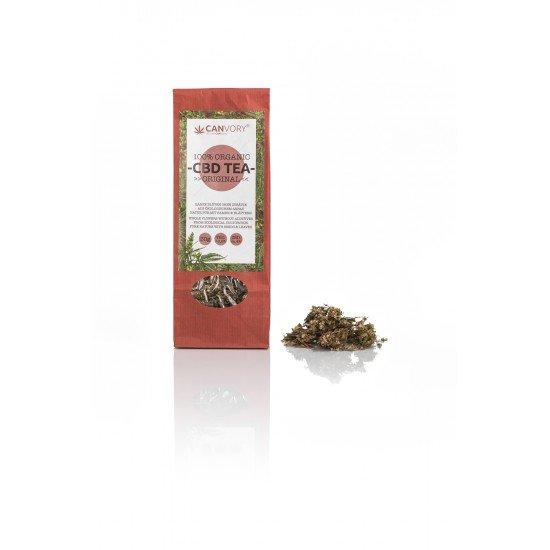 CBD Cannabidiol organic hemp flower tea original 4% CBD
